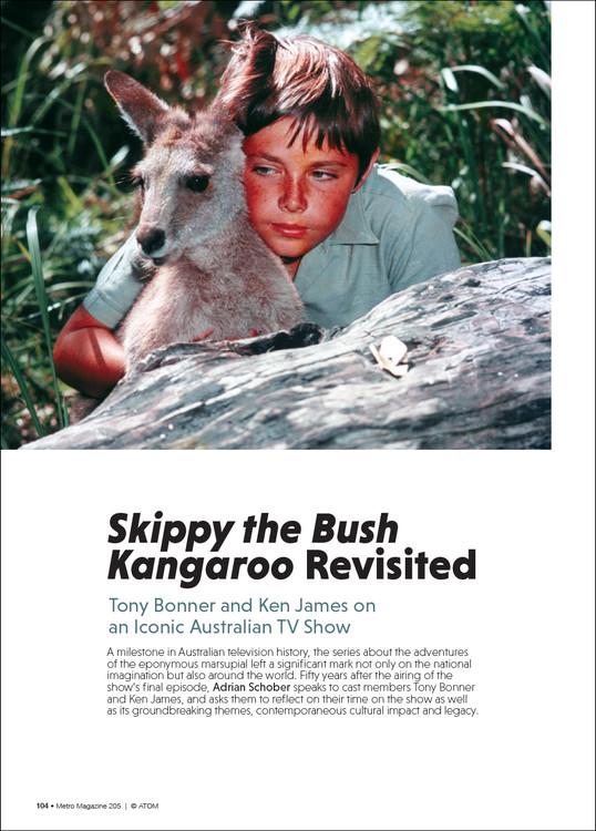 'Skippy the Bush Kangaroo' Revisited: Tony Bonner and Ken James on an Iconic Australian TV Show