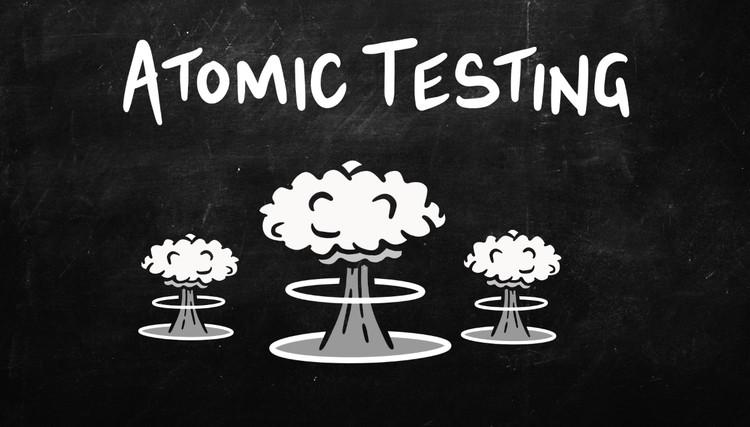 History Bites Back - Atomic Testing (30-Day Rental)