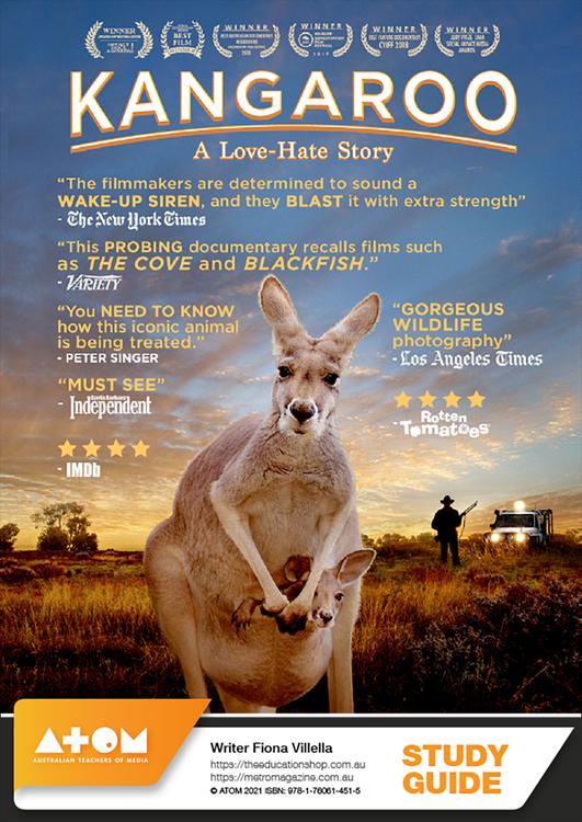 Kangaroo: A Love-Hate Story (ATOM Study Guide)