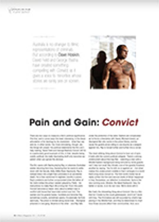 Pain and Gain: <em>Convict</em>