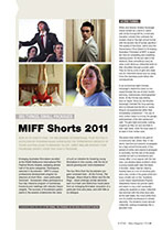 Big Things, Small Packages: MIFF Shorts 2011