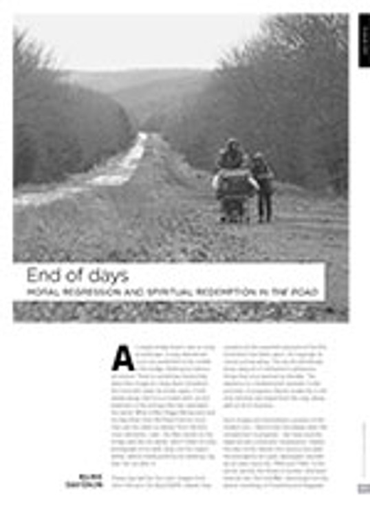 End of Days: Moral Regression and Spiritual Redemption in <i>The Road</i>