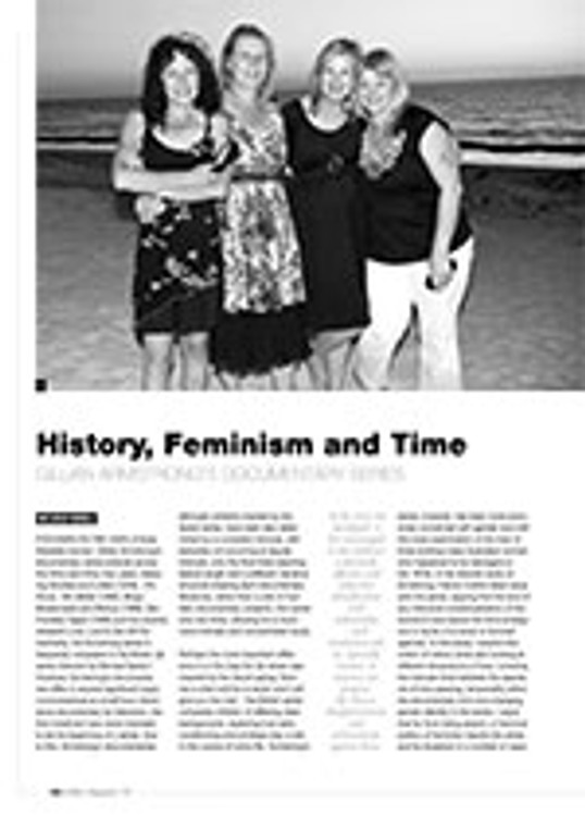 History, Feminism and Time: Gillian Armstrong? Documentary Series
