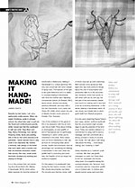Document: <i>Making it Handmade!</i>