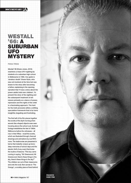 Document: Westall '66: A Suburban UFO Mystery