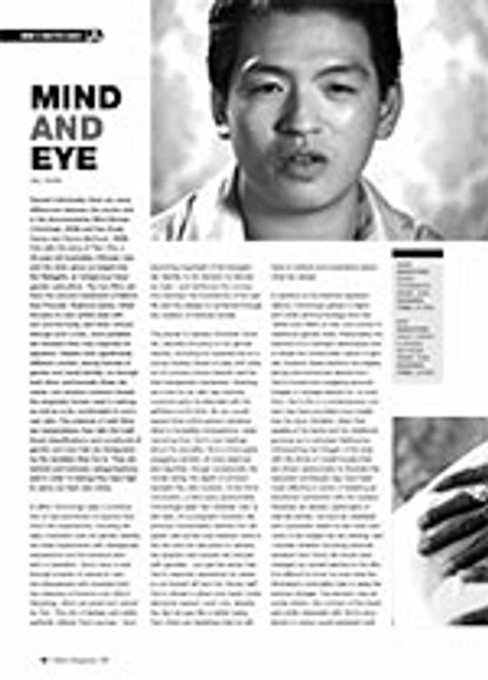 Document: <i>Mind</i> and <i>Eye</i>