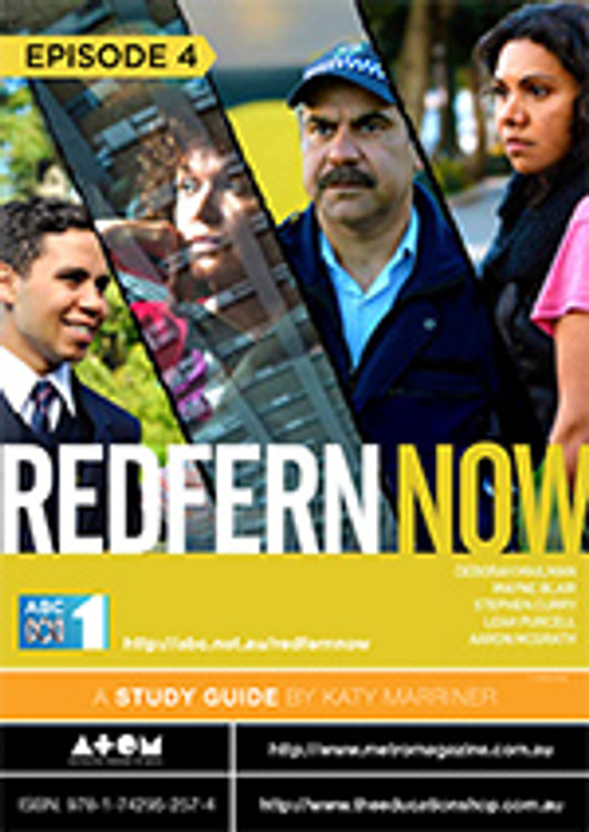 Redfern Now Series 1 - Episode 4 (ATOM Study Guide)