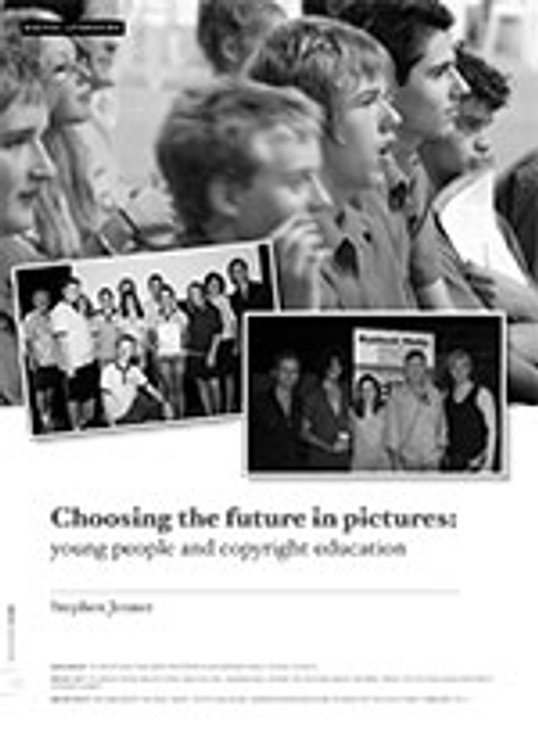 Choosing the Future in Pictures: Young People and Copyright Education