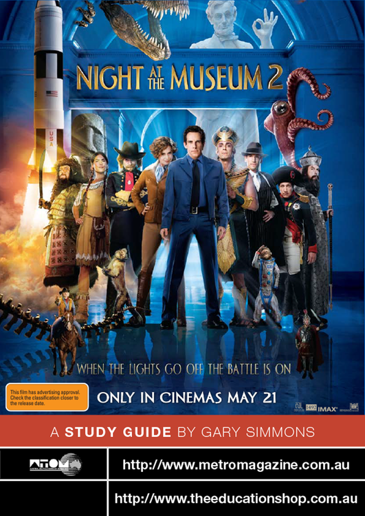 Night at the Museum 2 (ATOM Study Guide)