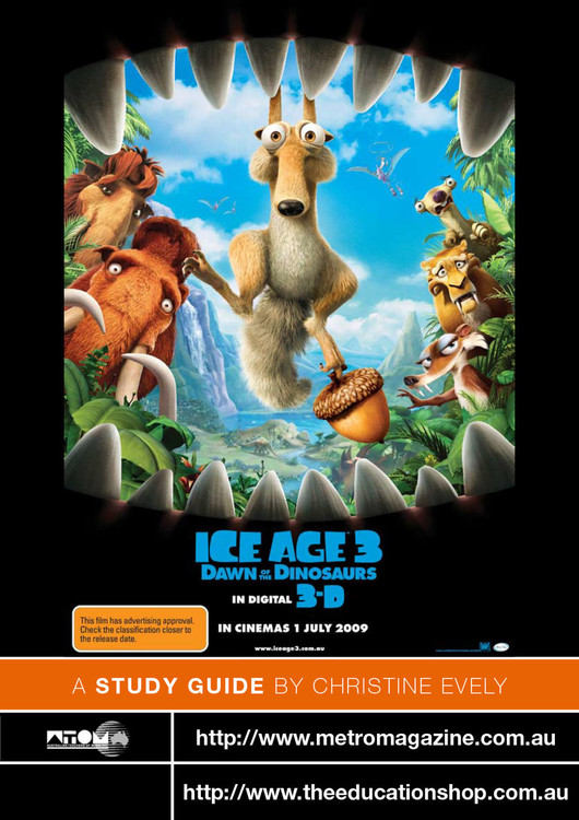 Ice Age 3: Dawn of the Dinosaurs (ATOM Study Guide)