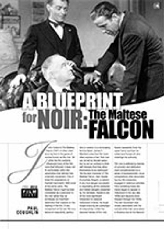 A Blueprint for Noir: <i>The Maltese Falcon</i>