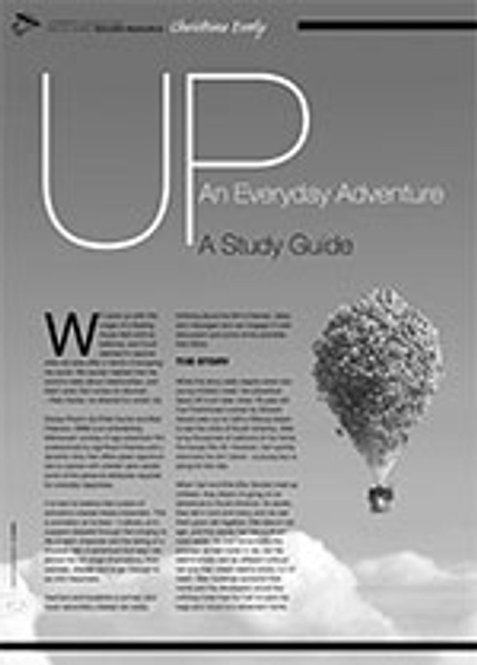<i>Up</i>: An Everyday Adventure. A Study Guide