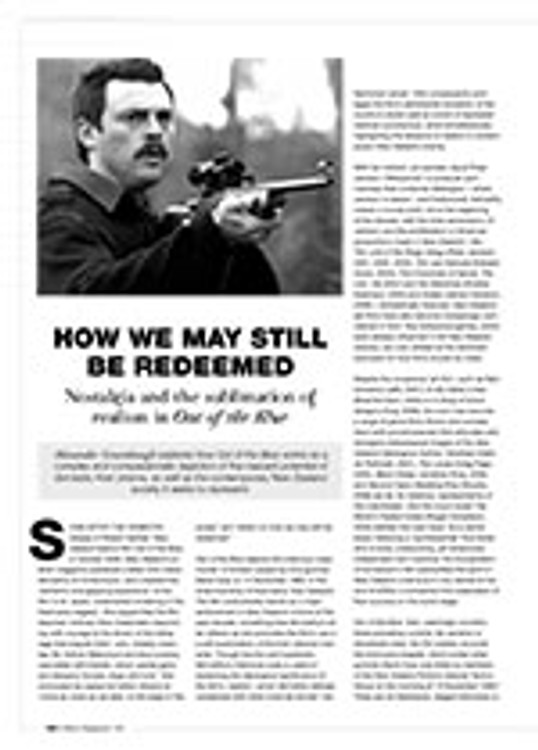 How We May Still Be Redeemed: Nostalgia and the Sublimation of Realism in <i>Out of the Blue</i>