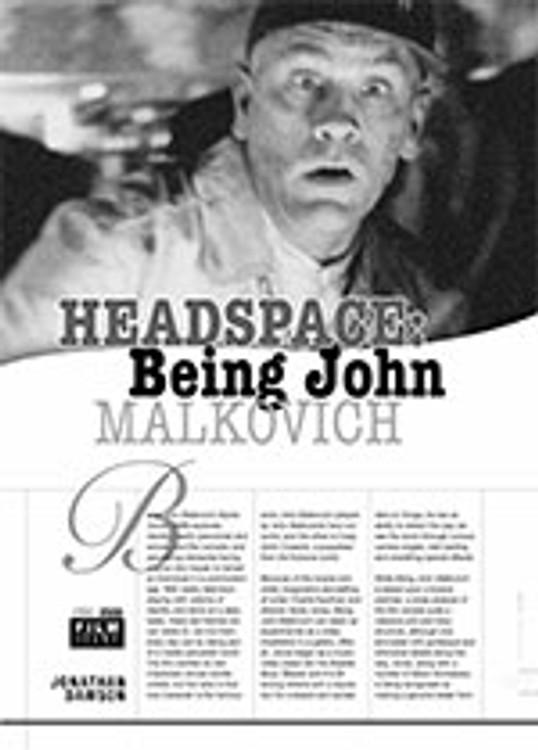 Headspace: <i>Being John Malkovich</i>