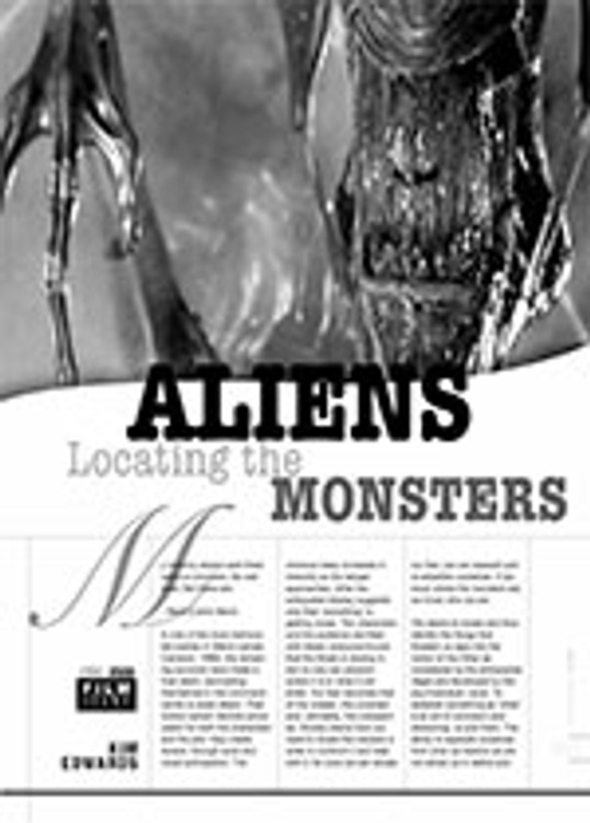 <i>Aliens</i>: Locating the Monsters