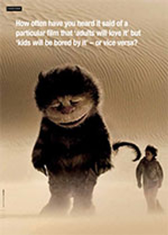 <i>Where the Wild Things Are</i> and the Concept of the