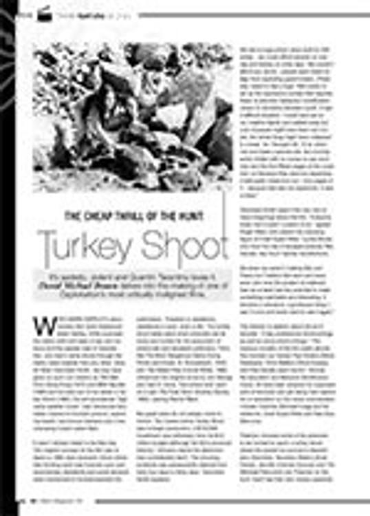 The Cheap Thrill of the Hunt: <i>Turkey Shoot</i>