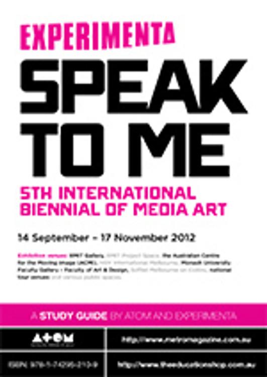 Experimenta: Speak to Me