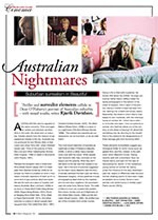 Australian Nightmares: Suburban Surrealism in <i>Beautiful</i>