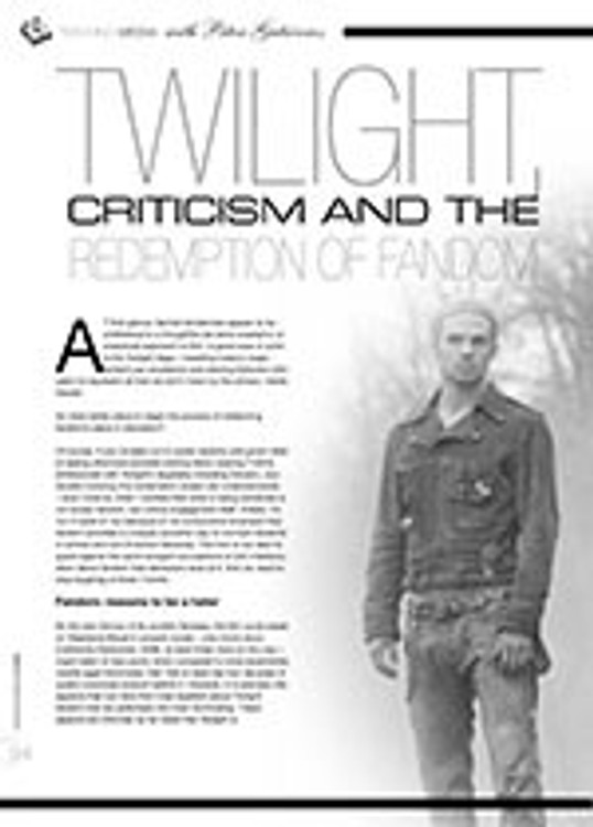 <i>Twilight</i>, Criticism and the Redemption of Fandom
