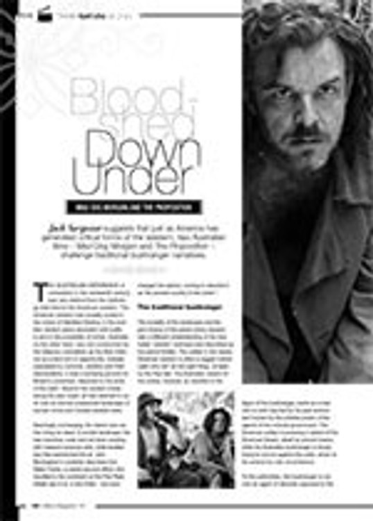Bloodshed Down Under: <i>Mad Dog Morgan</i> and <i>The Proposition</i>