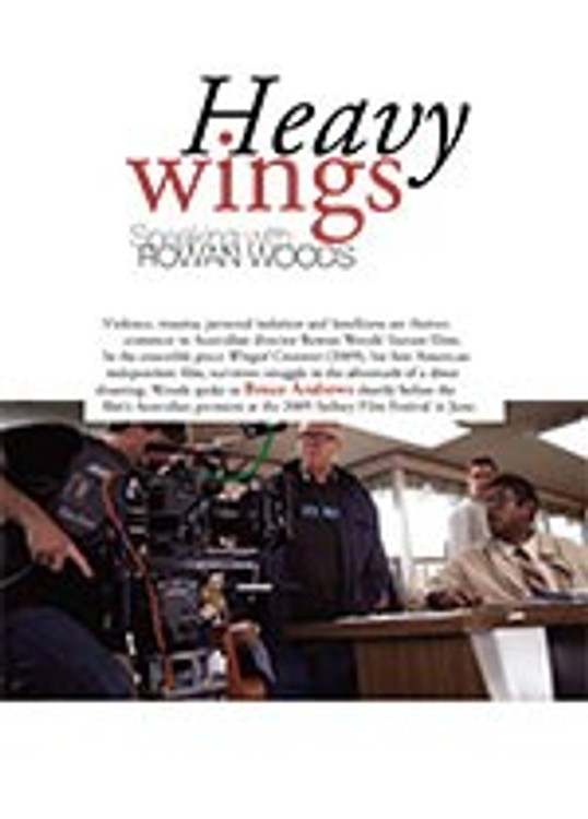 Heavy Wings: Speaking with Rowan Woods