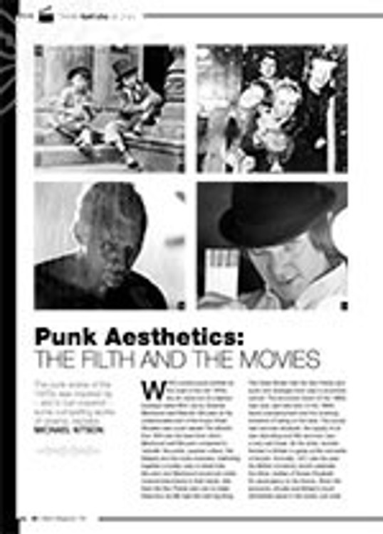 Punk Aesthetics: The Filth and the Movies