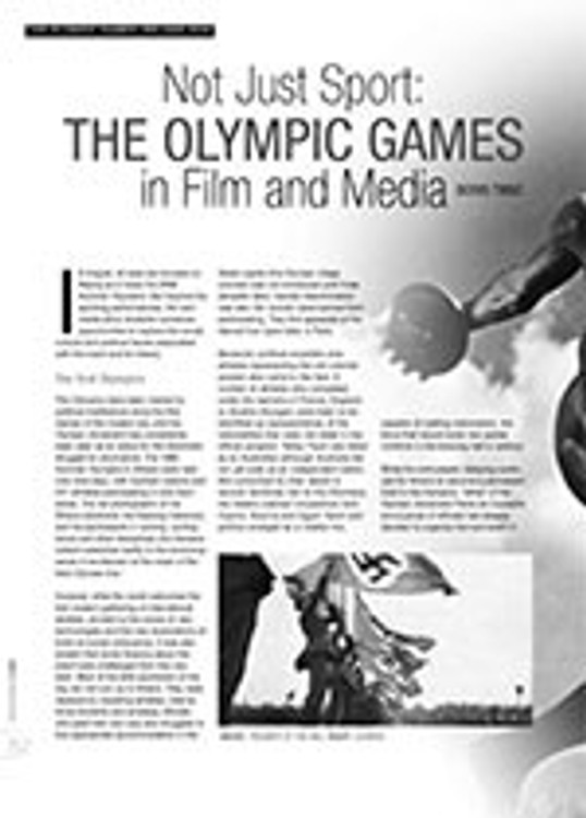 Not Just Sport: The Olympic Games in Film and Media