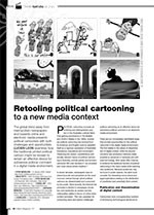 Retooling Political Cartooning to a New Media Context