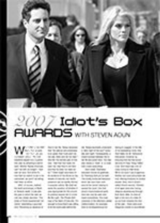 2007 Idiot's Box Awards