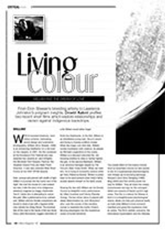 Living Colour: <i>William</i> and <i>The Dream of Love</i>