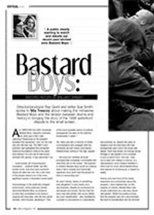 <i>Bastard Boys</i>: Bastard History of Brilliant Drama?