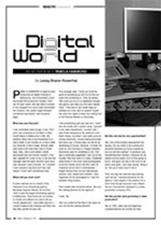 Digital World: An Interview with Pamela Hammond