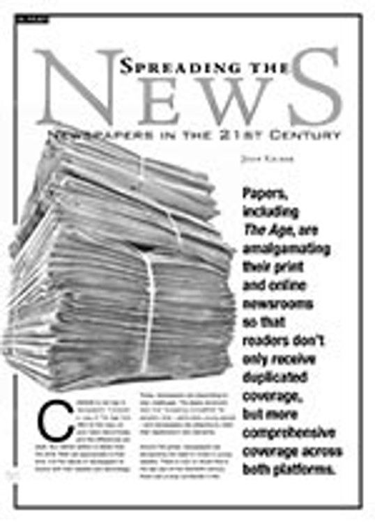 Spreading the News: Newspapers in the 21st Century