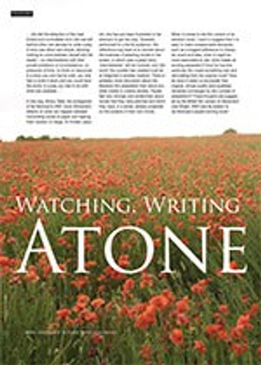 Watching, Writing and Control: <i>Atonement</i>