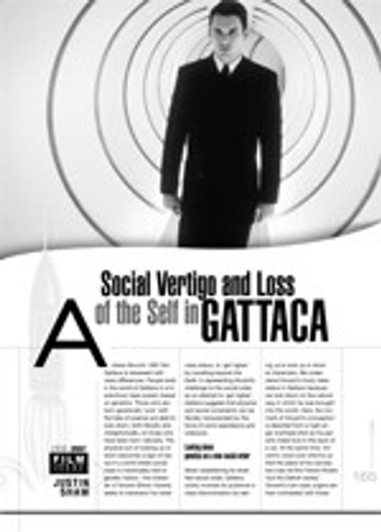 Social Vertigo and Loss of the Self in <i>Gattaca</i>