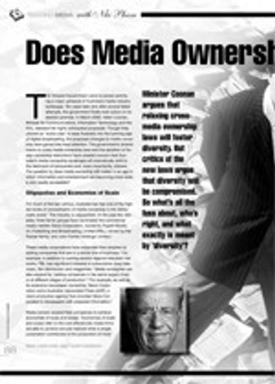 Does Media Ownership Still Matter?