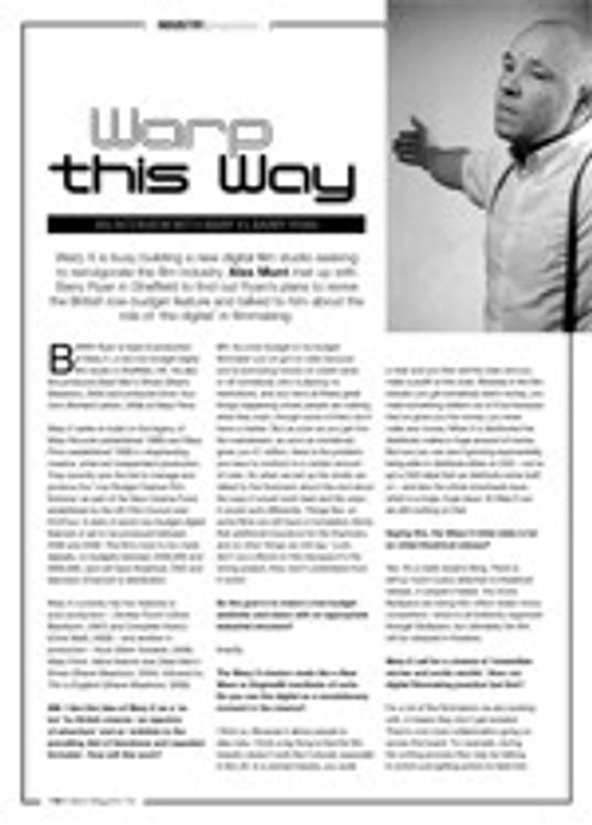 Warp This Way: An Interview with WarpX's Barry Ryan