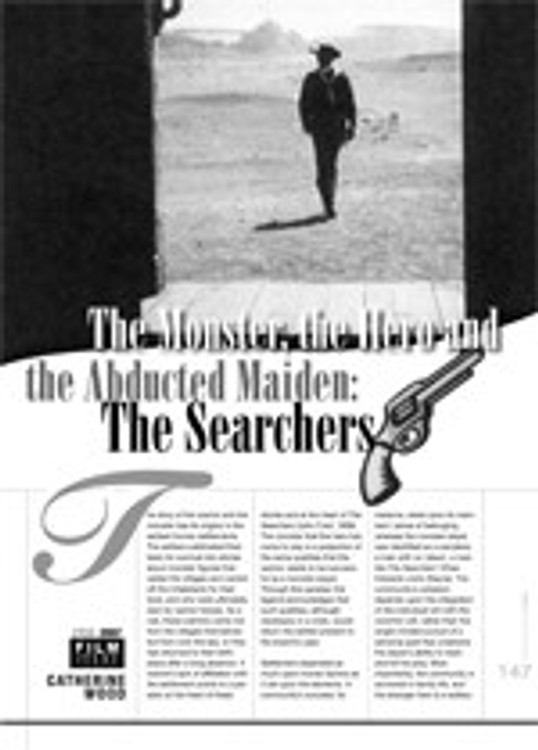 The Monster, the Hero and the Abducted Maiden: <i>The Searchers</i>