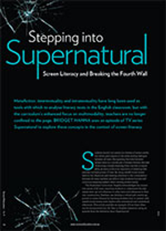 Stepping into <em>Supernatural</em>: Screen Literacy and Breaking the Fourth Wall