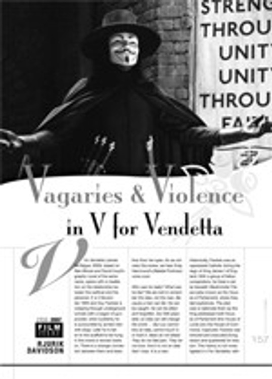 Vagaries & Violence in <i>V for Vendetta</i>