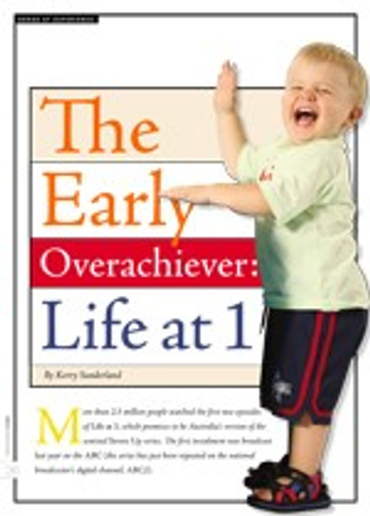 The Early Overachiever: <i>Life at 1</i>