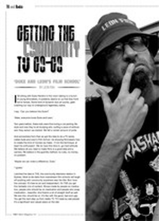 Getting the Community TV Go-Go: <i>Duke and Leon's Film School</i>
