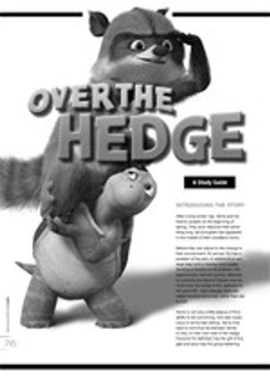 <i>Over the Hedge</i>: A Study Guide