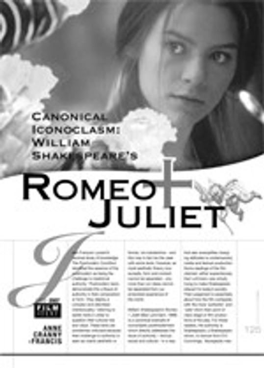 Canonical Iconoclasm: <i>William Shakespeare's Romeo + Juliet</i>