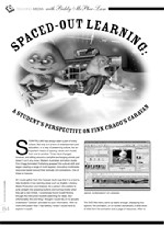 Spaced-Out Learning: A Student's Perspective on Finn Cragg's Caravan