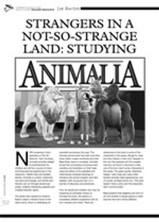 Strangers in a Not-So-Strange Land: Studying <i>Animalia</i>