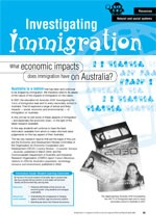 What economic impacts does immigration have on Australia?