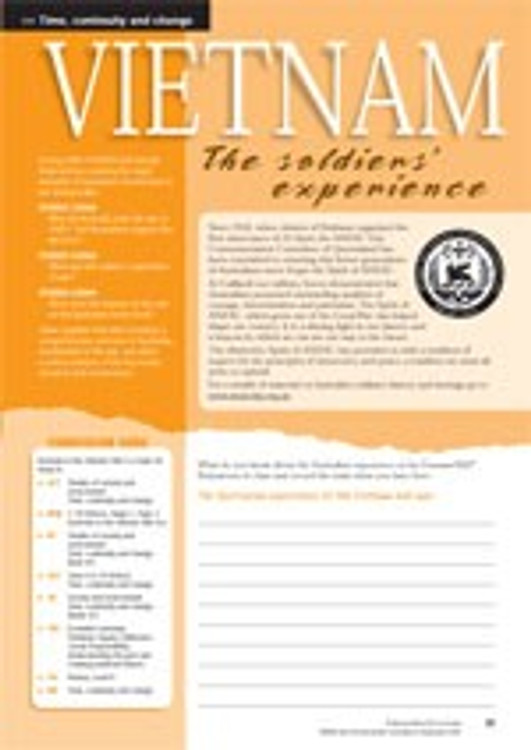 The Vietnam War ?the soldiers?experience