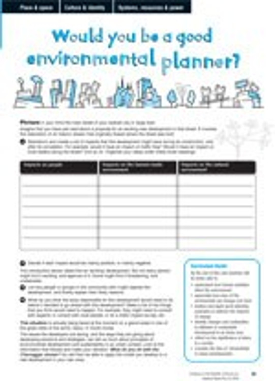 Would you be a good environmental planner?